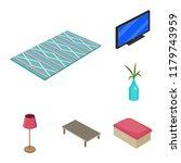 vector design of bedroom and...   Shutterstock .eps vector #1179743959