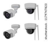 vector design of cctv and... | Shutterstock .eps vector #1179747823