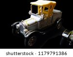 old nostalgia toy cars   Shutterstock . vector #1179791386