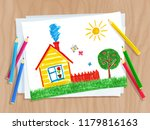 top view vector illustration of ...   Shutterstock .eps vector #1179816163