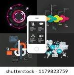 infographics templates  vector... | Shutterstock .eps vector #1179823759