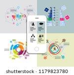 infographics templates  vector... | Shutterstock .eps vector #1179823780