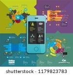 infographics templates  vector... | Shutterstock .eps vector #1179823783
