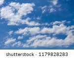 blue sky with white clouds | Shutterstock . vector #1179828283
