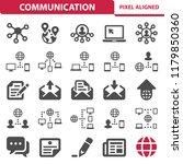 communication   social media...   Shutterstock .eps vector #1179850360