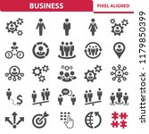 business icons. professional ... | Shutterstock .eps vector #1179850399