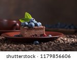Chocolate Cake With Blueberries ...