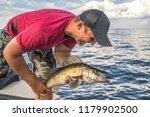 Happy Fisherman With Walleye...