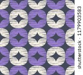 seamless pattern with retro... | Shutterstock .eps vector #1179903583