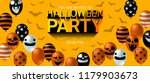 halloween party invitation... | Shutterstock .eps vector #1179903673