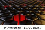 abstract background of metalic... | Shutterstock . vector #1179910363