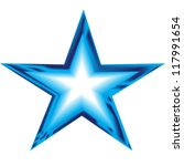 Blue Star Illustration