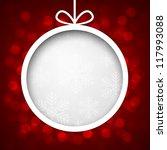 Abstract Shiny Christmas...