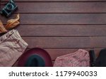 autumn female outfit. set of... | Shutterstock . vector #1179940033