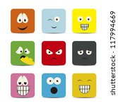 illustration of expressions... | Shutterstock .eps vector #117994669