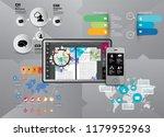 infographic concept  vector | Shutterstock .eps vector #1179952963