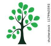 abstract of tree   vector... | Shutterstock .eps vector #1179965593