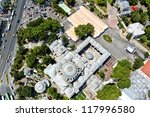 beyaz t mosque from helicopter | Shutterstock . vector #117996580
