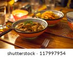 traditional african lamb chunks ... | Shutterstock . vector #117997954