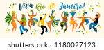 brazil carnival. vector... | Shutterstock .eps vector #1180027123