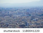 cityscape of rome with victor... | Shutterstock . vector #1180041220
