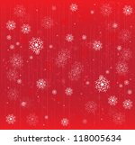 christmas and new year night... | Shutterstock .eps vector #118005634