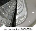 Panoramic Elevator And Atrium