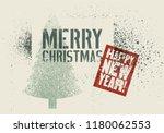 typographic vintage grunge... | Shutterstock .eps vector #1180062553
