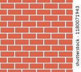 red brick wall seamless pattern ... | Shutterstock .eps vector #1180071943