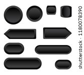 set of black buttons differents ... | Shutterstock .eps vector #1180078390