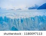 perito moreno glacier ... | Shutterstock . vector #1180097113