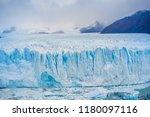 perito moreno glacier ... | Shutterstock . vector #1180097116