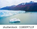 perito moreno glacier ... | Shutterstock . vector #1180097119