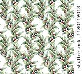 watercolor seamles big pattern... | Shutterstock . vector #1180119013