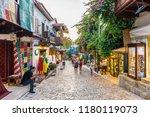 kalkan  turkey   september 11 ... | Shutterstock . vector #1180119073