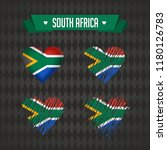 south africa with love. design... | Shutterstock .eps vector #1180126783