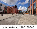 the newly opened forum shopping ... | Shutterstock . vector #1180130860