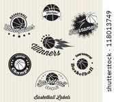 Basketball Labels