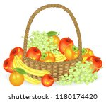 thanksgiving. collected a... | Shutterstock .eps vector #1180174420