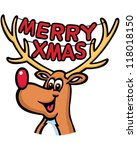animal,animals in the wild,antler,blue,brown,cartoon,characters,christmas,circle,clip art,cold,cute,deer,fun,funky