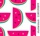 vector watermelon background...   Shutterstock .eps vector #1180190899