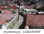 streets in the mexican town... | Shutterstock . vector #1180193959