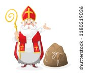 Cute Saint Nicholas Cartoon...