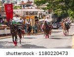puerto vallarta  jalisco ... | Shutterstock . vector #1180220473