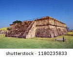 building structure from ancient ... | Shutterstock . vector #1180235833