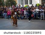 mexico city   october 29  2016  ... | Shutterstock . vector #1180235893