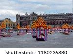 mexico city  mexico   october... | Shutterstock . vector #1180236880