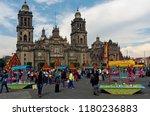 mexico city  mexico   october... | Shutterstock . vector #1180236883