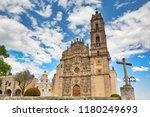 mexico  tepotzotlan francisco... | Shutterstock . vector #1180249693