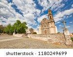 mexico  tepotzotlan francisco... | Shutterstock . vector #1180249699